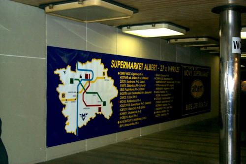 Albert banner metro